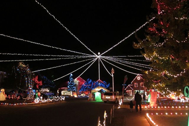 Cedar Park Light Show & Urban Hike