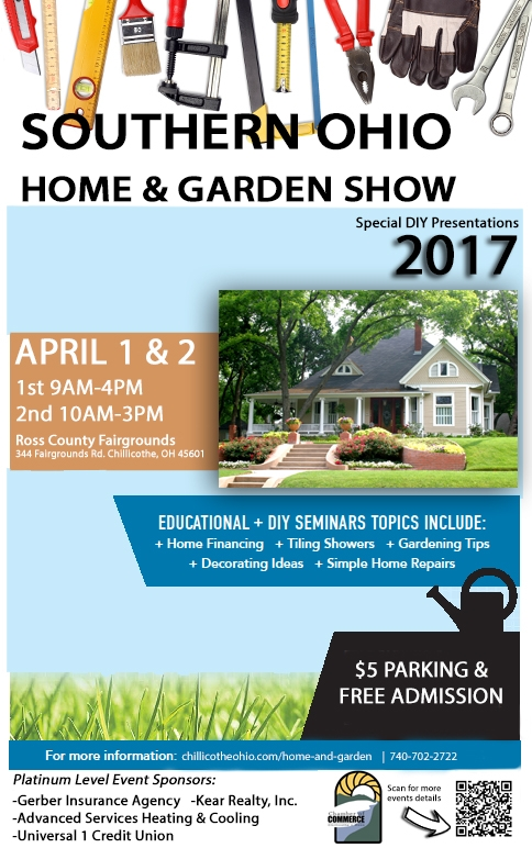 Southern Ohio Home Garden Show Events Chillicothe Ross Chamber Of Commerce