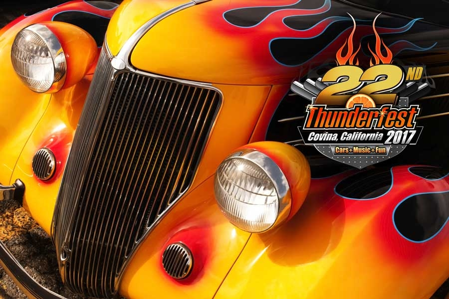 Nd Annual Covina Thunderfest Car Show Music Festival - Car show event calendar