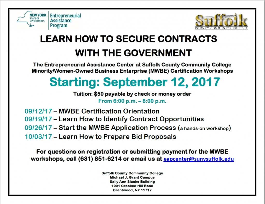 Learn How To Secure Contracts With The Government Start The Mwbe