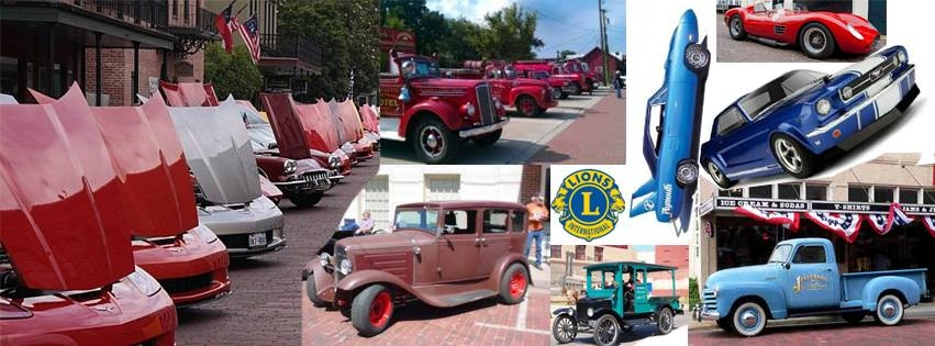 Lions Club Fire Brigade Benefit Car Show Jefferson - Jefferson car show
