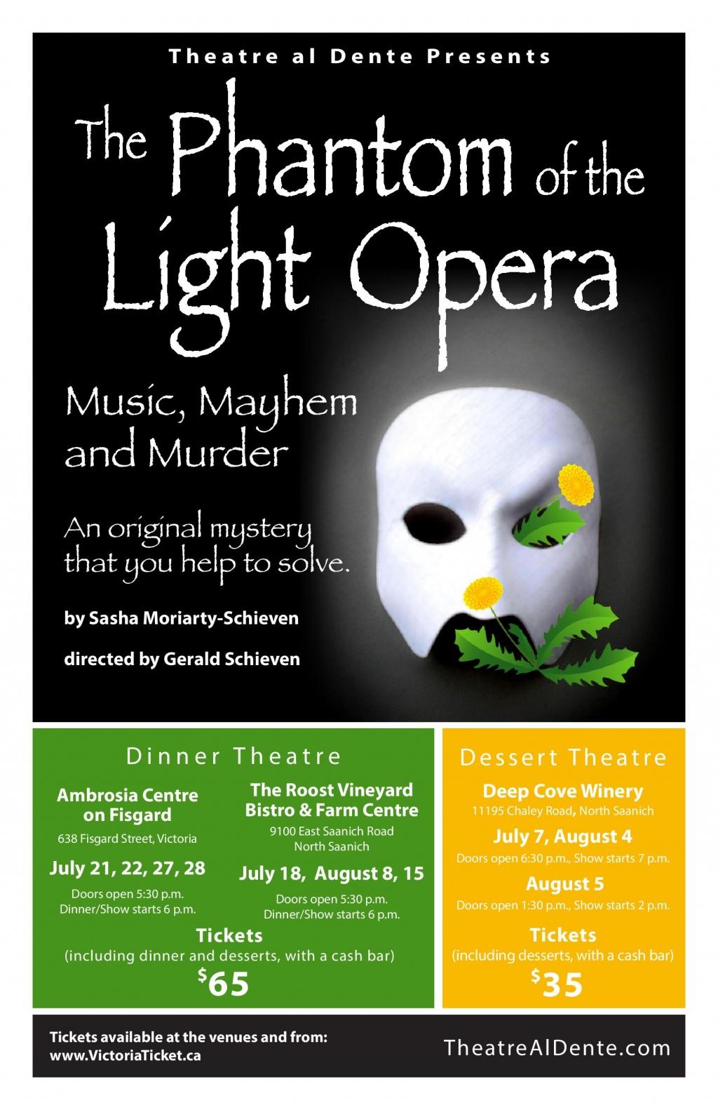 The Phantom Of Light Opera