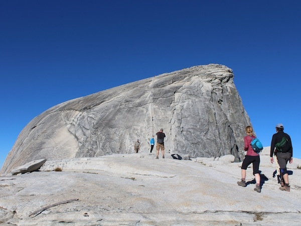 Half Dome Hike And Camp Weekend Friday Summit In