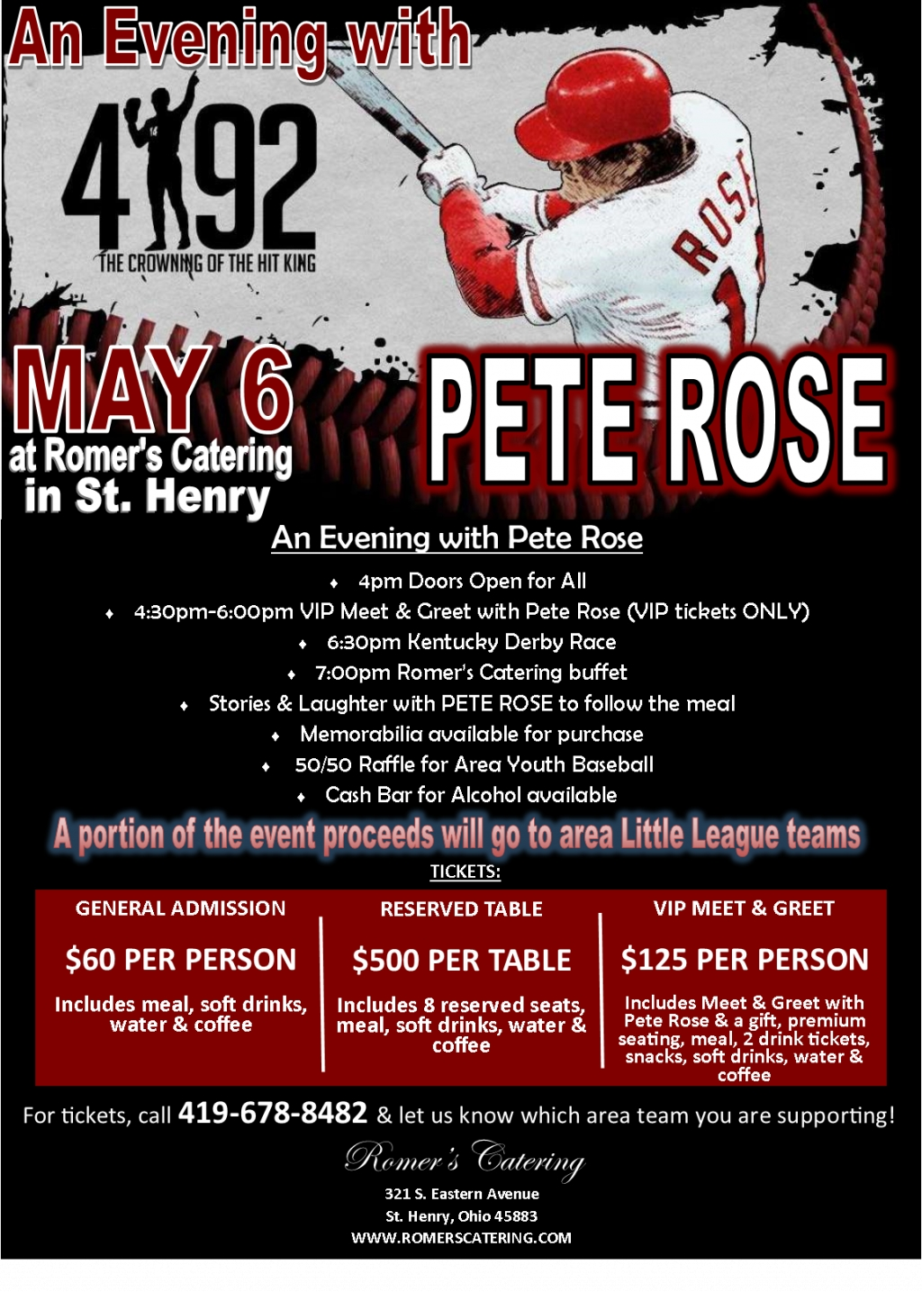 An Evening with Pete Rose