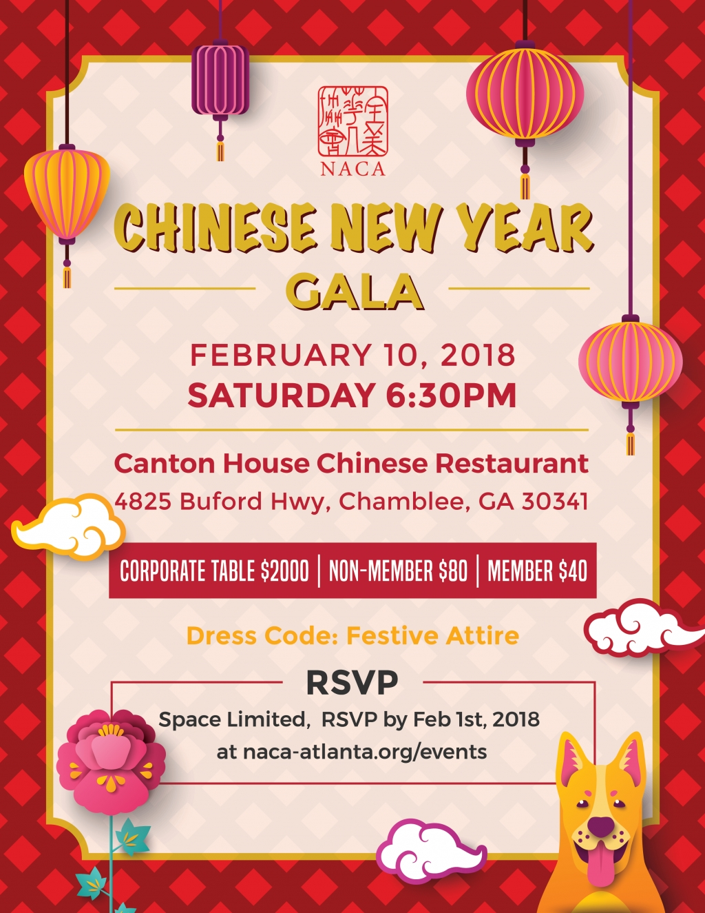 Naca Chinese New Year Gala
