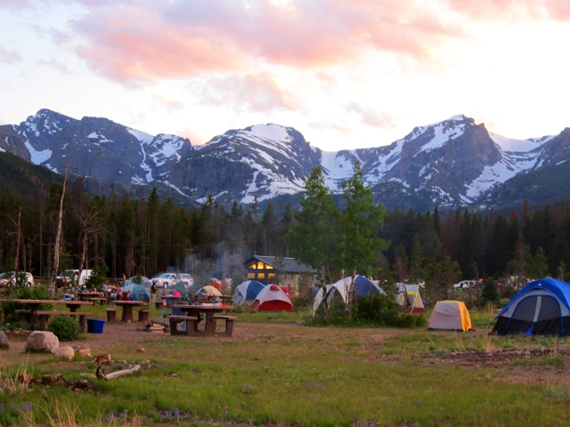 Camping In Rocky Mountain National Park Events List