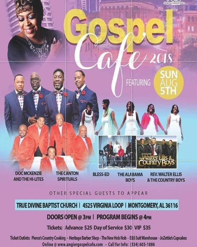 Gospel Cafe 2018