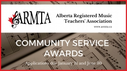 Provincial Piano Competition • ARMTA Alberta Registered
