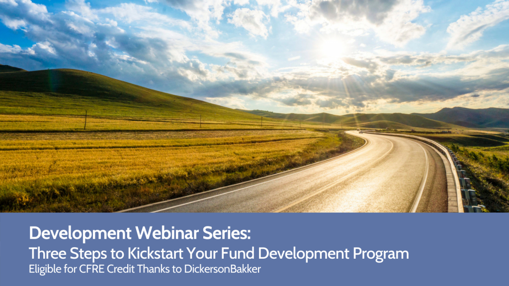 Image for Three Steps to Kickstart Your Fund Development Program