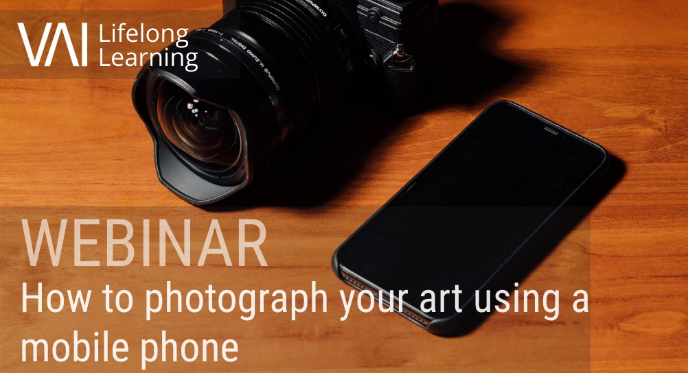 Image for WEBINAR: How to photograph your art using a mobile phone