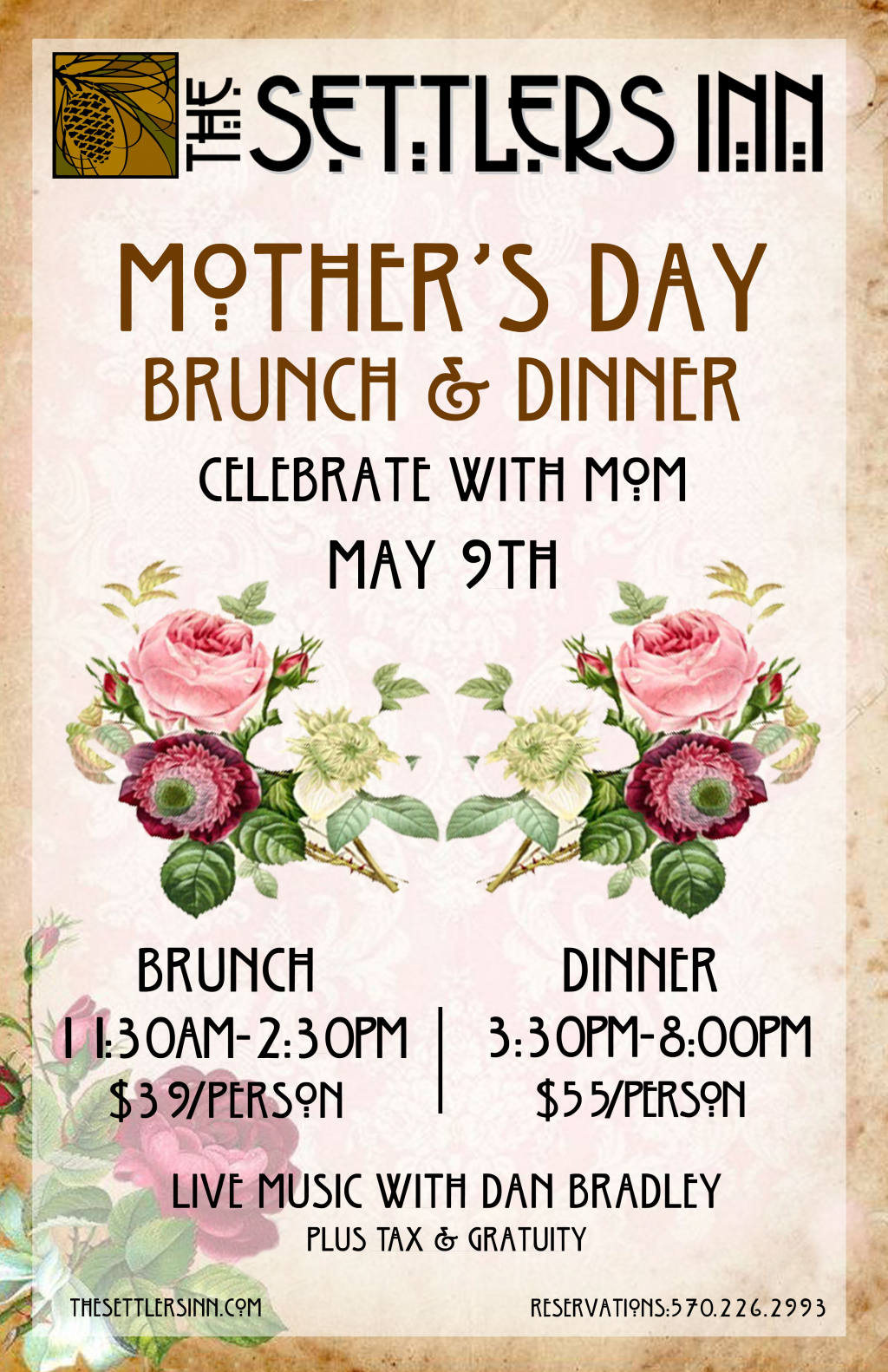 Image for Mother's Day Brunch and Dinner