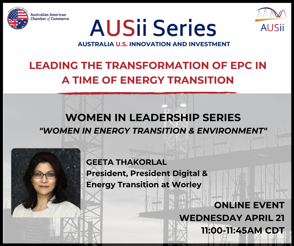Image for AUSii Series: Leading the Transformation of EPC in a time of Energy Transition