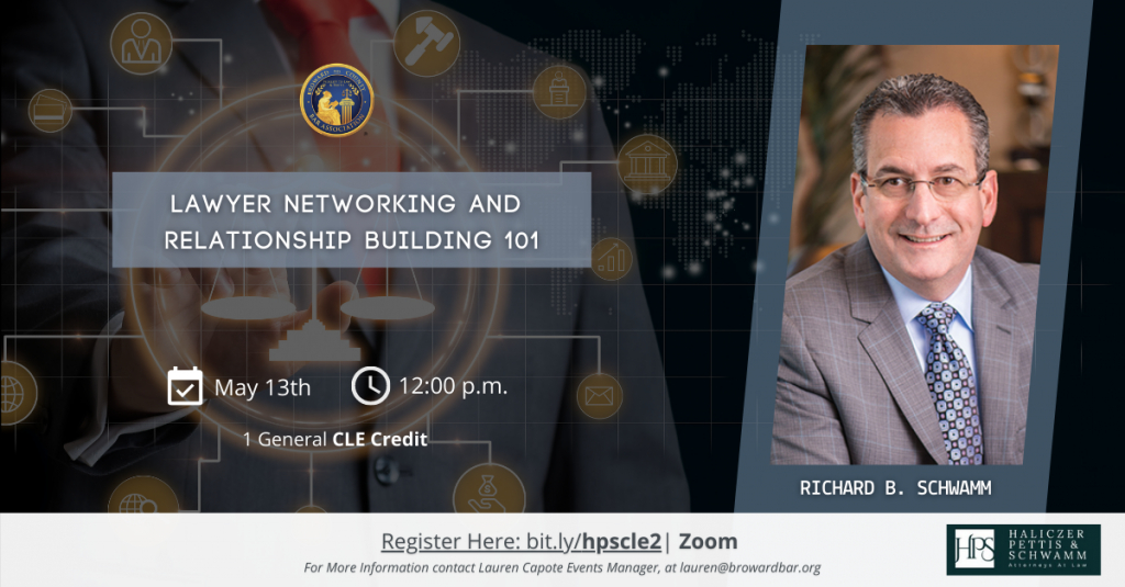 Image for Webinar - Lawyer Networking and Relationship Building 101