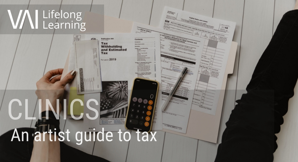Image for CLINICS: An artist guide to tax (Co. Cavan based artists only)
